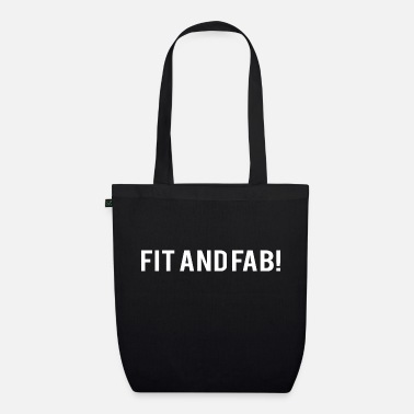 Building POWERLIFTING: Fit and Fab! - Organic Tote Bag