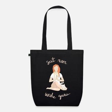 Mantra Meditating with mantras - Organic Tote Bag