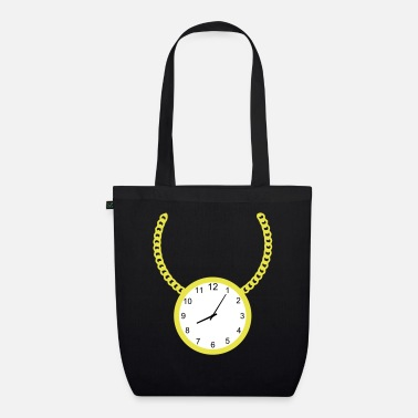 Necklace Necklace with clock - Organic Tote Bag
