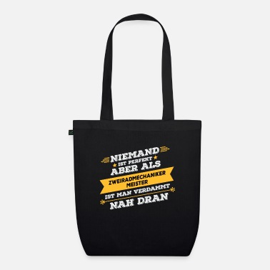 Two Master Two wheel mechanic master's work gift - Organic Tote Bag