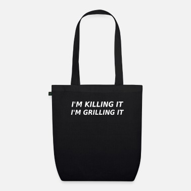 Barbecue - Hunter - Hunting - Gift - Barbecue - Organic Tote Bag