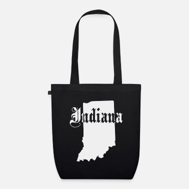State Of Indiana State of Indiana - Organic Tote Bag