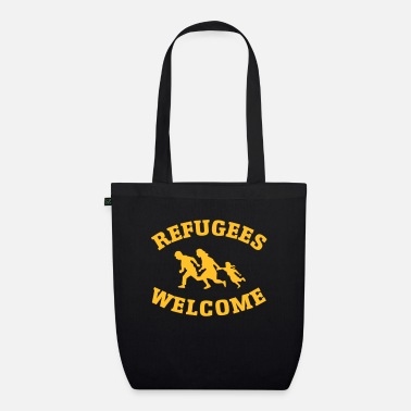 Refugees Welcome Refugees Welcome - Organic Tote Bag