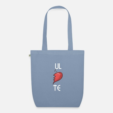 Partner ULTE Cute Soulmates Valentine's Day 2020 Partners - Organic Tote Bag
