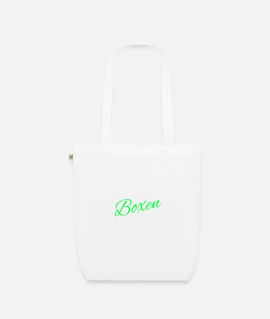 Fighter Bags & Backpacks - boxer - Organic Tote Bag white