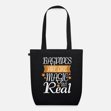 Bagpipes Bagpipe Scots Gift Music Scotland - Organic Tote Bag