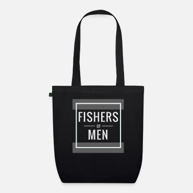 Christian Human fisherman, Christian - Organic Tote Bag