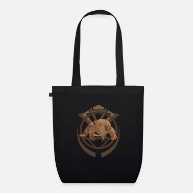 Komodo Dragon Komodo Dragon - Organic Tote Bag