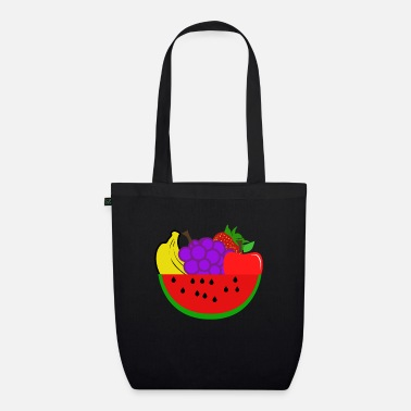 Fruit Fruits - fruits - Organic Tote Bag
