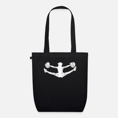 Split Cheerleader split - Organic Tote Bag