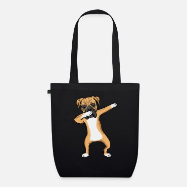 Boxer Dabbing Boxer Dog German Dab Dance Boys - Organic Tote Bag