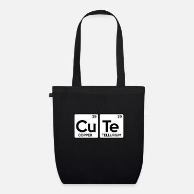 Periodic Table CUTE Periodic Table Periodic Table Say sweetie - Organic Tote Bag