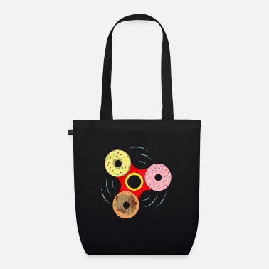 Spin Donut spin - Organic Tote Bag