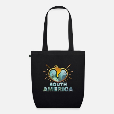 South America South America - Organic Tote Bag