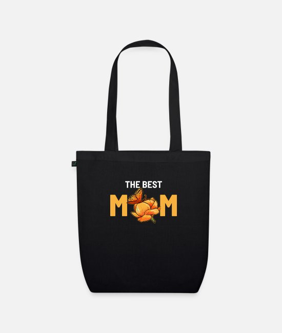 Mummy Bags & Backpacks - The best mum Beste Mutter Gift - Organic Tote Bag black