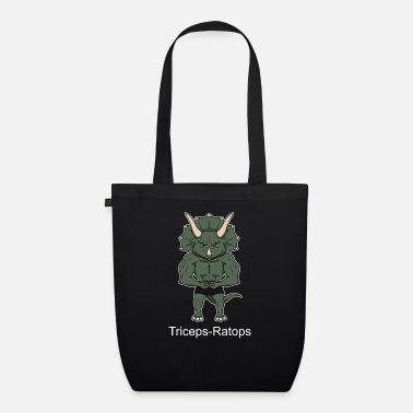 Tricep Triceps - Ratops dinosaurs - Organic Tote Bag