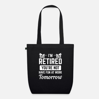 Official-person officially withdrawn old person gift - Organic Tote Bag