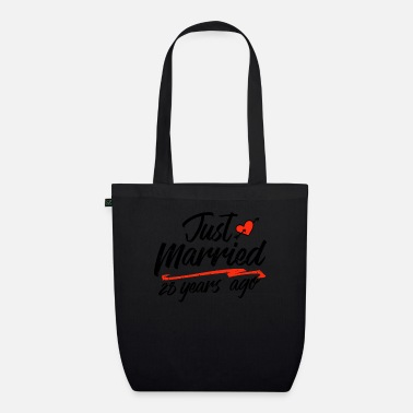 Anniversary Just Married 28 Year Ago Funny Wedding - Organic Tote Bag