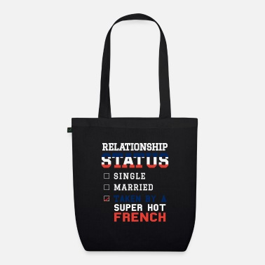 Single Statut relationnel Pris Super Hot French - Sac en tissu bio