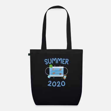 Swimming pool party 2020 meme face mask gift - Organic Tote Bag