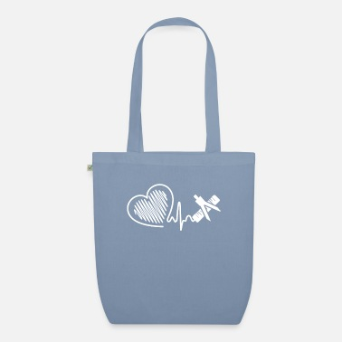 Mathematician Mathematician Mathematician Heartbeat - Organic Tote Bag