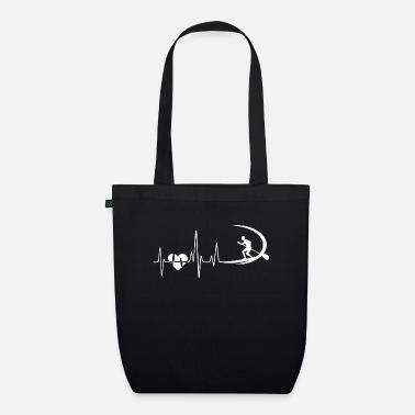 Paddleboarding Heartbeat - Organic Tote Bag