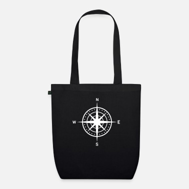 North Compass cardinal points t-shirt gift - Organic Tote Bag