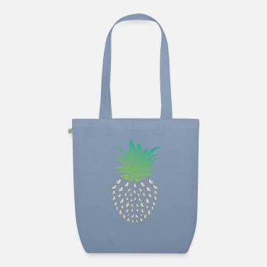 Economy Pineapple Chicken Farmer - Organic Tote Bag