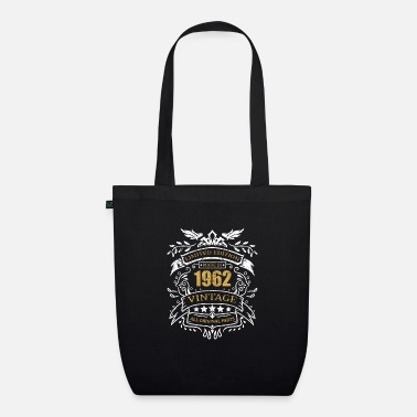 Idea Vintage Limited Edition Made In 1962 Birthday Gift - Organic Tote Bag