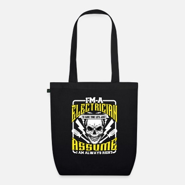 Lightning electrician - Organic Tote Bag