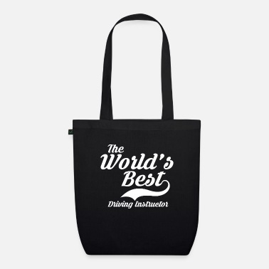 License The World's Best Driving Instructor Gift - Organic Tote Bag
