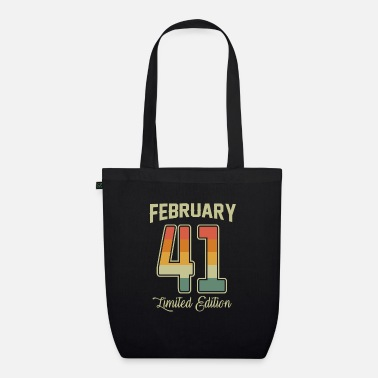 Cool Vintage 80th Birthday February 1941 Sports Gift - Organic Tote Bag