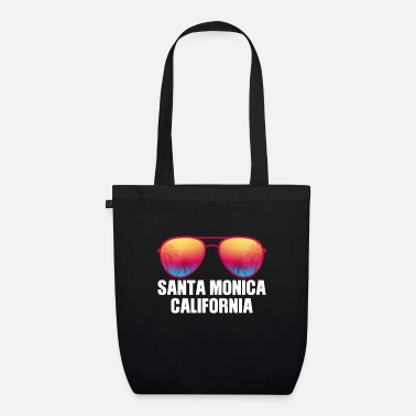 Los Angeles Santa Monica California - Organic Tote Bag