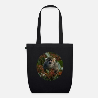 Msvrvisual Squirrel Monkey - Organic Tote Bag
