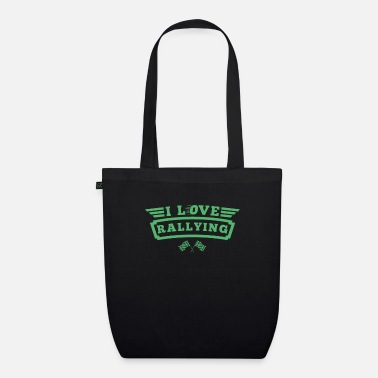 Rally Rally Rallies rally rally rally car - Organic Tote Bag