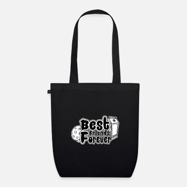 Cookie and Milk - Best Friends Forever - Organic Tote Bag