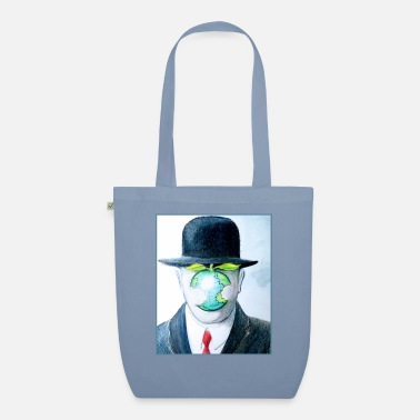 Enviromental Adam's Apple Enviromental Illustration - Organic Tote Bag