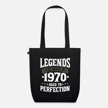 50 Legends were born in 1970 50 years gift - Organic Tote Bag