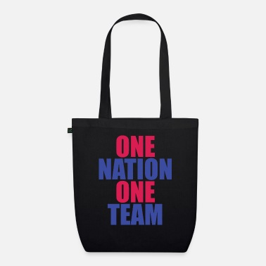 National Team ONE NATION ONE TEAM - Organic Tote Bag