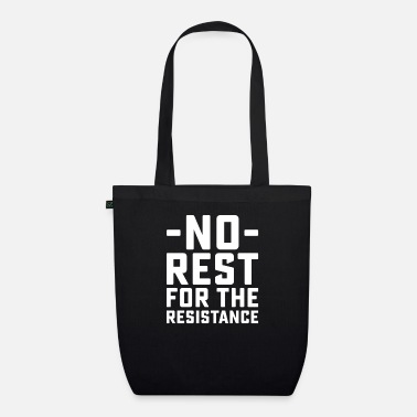 Rest No Rest - Organic Tote Bag