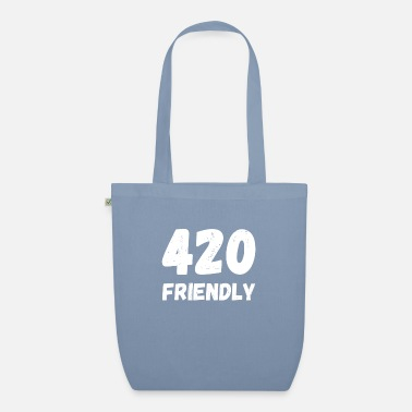 420 2018 420 Friendly - April 20 cannabis grass cannabis - Organic Tote Bag