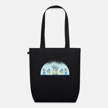 Plant Grounds plants - Organic Tote Bag