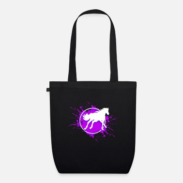 horse riding - Organic Tote Bag