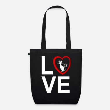 I Love My Cat - Organic Tote Bag