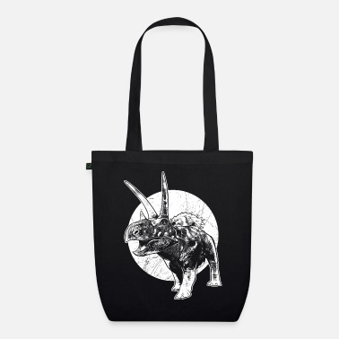 Dinosaur Fossils Dinosaur fossil coahuilaceratops wilderness fossil - Organic Tote Bag