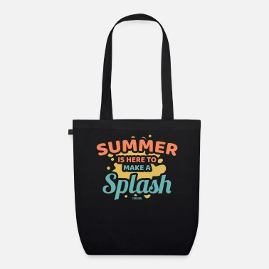 Island Summer sun vacation sea beach gift - Organic Tote Bag
