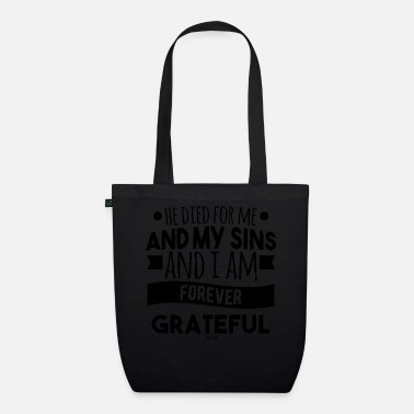 Catholic catholic saying jesus christ - Organic Tote Bag