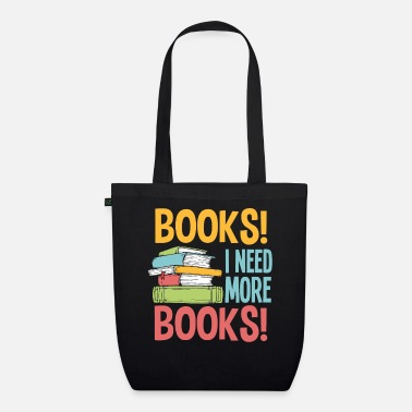 Murderer Book reading books librarian gift - Organic Tote Bag