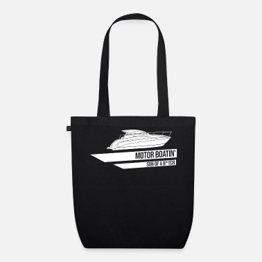 Motor Boat Motor boat motor boating speed boat racing boat - Organic Tote Bag