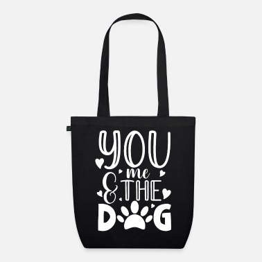 Jack Russell You me and the dog for a dog owner / - Organic Tote Bag